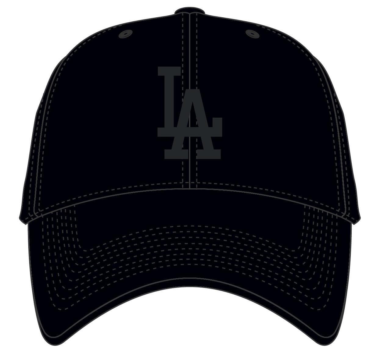 47 BRAND CZAPKA LOS ANGELES DODGERS MELTON CZARNA (B-MLTSP12WMP-BK)