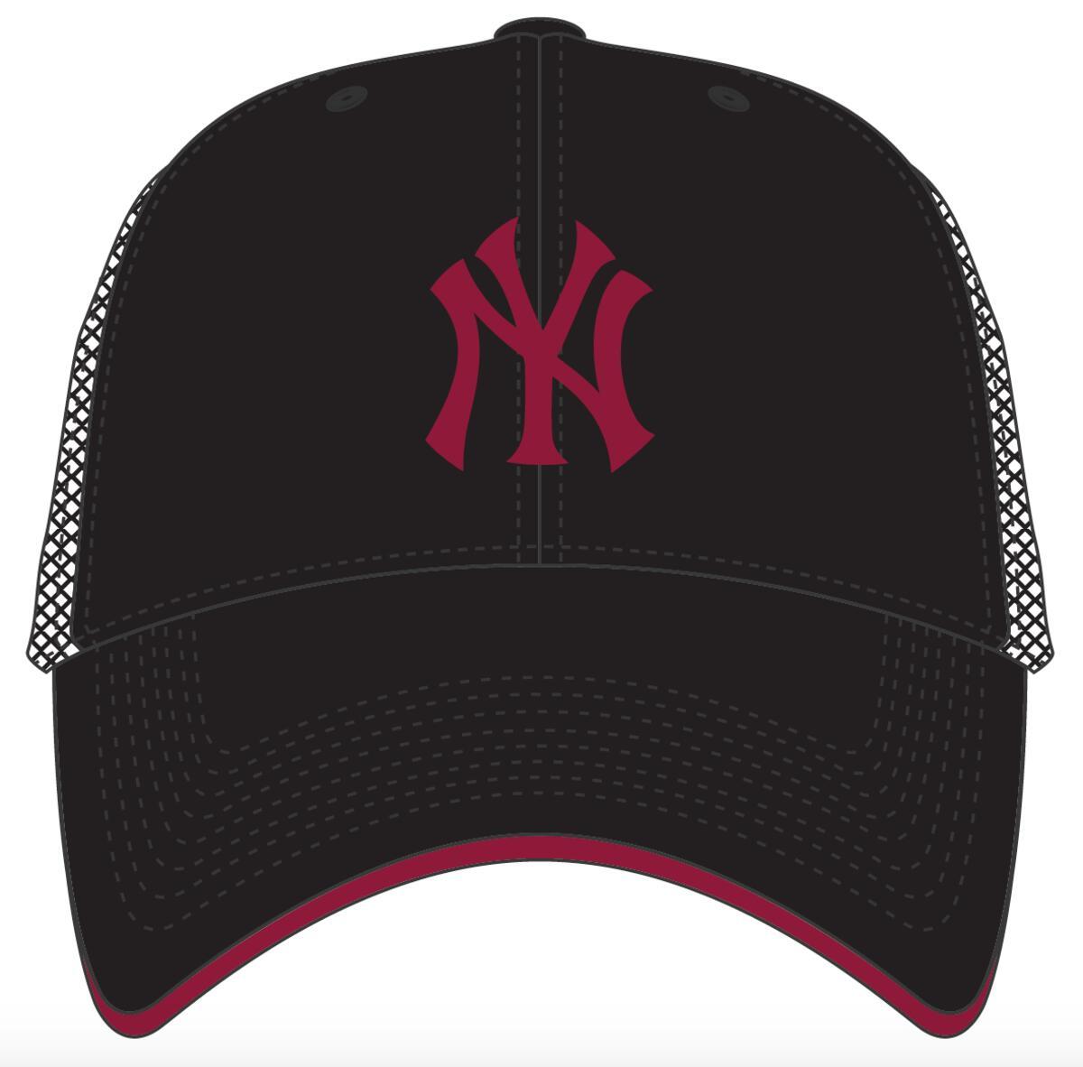 47 BRAND CZAPKA NEW YORK YANKEES DAGWOOD CZARNA (B-DWODM17CTP-BKF)