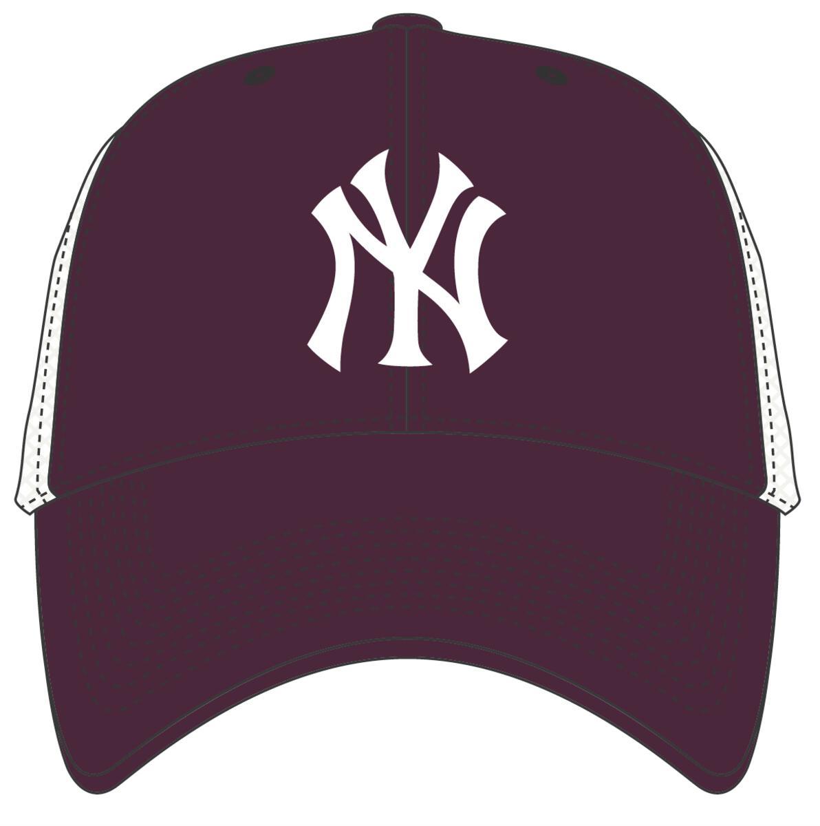 47 BRAND CZAPKA NEW YORK YANKEES BRANSON MVP BORDOWA (B-BRANS17CTP-KME)